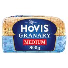 Hovis granary malted brown medium sliced bread - 800g