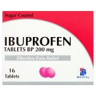 Brunel ibuprofen tablets - 16s