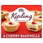 Mr Kipling Cherry bakewells - 6s Brand Price Match - Checked Tesco.com 01/07/2015