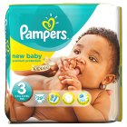 Pampers New Baby Size 3 Carry 29 Nappies - 29s