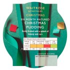 Waitrose richly fruited Christmas pudding -