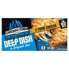 Chicago Town 2 deep dish four cheese pizzas - 2x155g