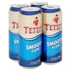 Tetley's smooth flow draught bitter - 4x440ml