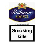 Rothmans king size blue cigarettes - 20s