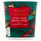 Waitrose Christmas brandy cream - 250ml