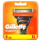 Gillette Fusion Manual Razor Blades 8 count - 8s