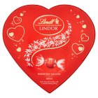 Lindt lindor heart chocolate box - 160g