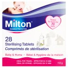 Milton 28 sterilising tablets - 28s Brand Price Match - Checked Tesco.com 10/03/2014