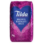 Tilda wholegrain basmati rice - 1kg Brand Price Match - Checked Tesco.com 16/07/2014