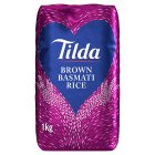 Tilda wholegrain basmati rice - 1kg