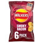 Walkers smoky bacon crisps - 6x25g Brand Price Match - Checked Tesco.com 02/12/2013