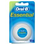 Oral B Essential Floss Regular - 50m Brand Price Match - Checked Tesco.com 20/05/2015