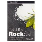 Tidman's rock salt natural - 500g Brand Price Match - Checked Tesco.com 05/03/2014
