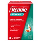 Rennie spearmint flavour - 24s Brand Price Match - Checked Tesco.com 16/07/2014
