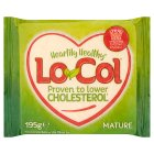 Lo-Col mature cholesterol lowering cheese alternative - 195g Brand Price Match - Checked Tesco.com 23/07/2014