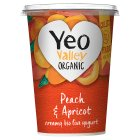 Yeo Valley organic apricot & peach yogurt - 450g Brand Price Match - Checked Tesco.com 05/03/2014