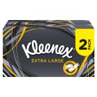 Kleenex Mansize Tissues, twin pack - 2x100 sheets Brand Price Match - Checked Tesco.com 10/09/2014