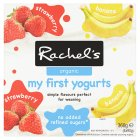 Rachel's organic my first yogurt - 4x90g Brand Price Match - Checked Tesco.com 25/02/2015