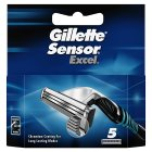 Gillette sensor excel blades - 5s Brand Price Match - Checked Tesco.com 21/04/2014