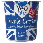 Yeo Valley organic double cream - 227ml Brand Price Match - Checked Tesco.com 05/03/2014