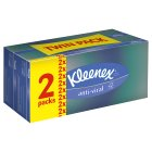 Kleenex Anti-Viral Tissues, twin pack - 2x72s