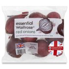 essential Waitrose red onions - 750g