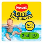 Huggies Little Swimmers Swim Pants, size 3-4, 7-15kg - 12s