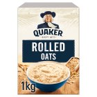 Quaker Oats porridge cereal - 1kg Brand Price Match - Checked Tesco.com 07/10/2015