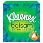 Kleenex Balsam Mansize Tissue, compact box - 50 sheets Brand Price Match - Checked Tesco.com 26/08/2015