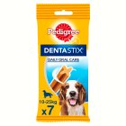 Pedigree dentastix medium dogs 10-25kg - 180g Brand Price Match - Checked Tesco.com 27/08/2014