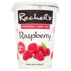 Rachel's organic low fat raspberry yogurt - 450g