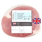 Waitrose free range dry cure unsmoked English gammon - per kg