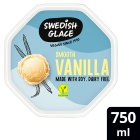 Swedish Glace vanilla non dairy frozen dessert - 750ml Brand Price Match - Checked Tesco.com 30/07/2014
