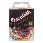 Essentials rubber bands coloured