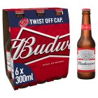Budweiser - 6x300ml Brand Price Match - Checked Tesco.com 23/07/2014