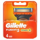 Gillette fusion power cartridges - 4s Brand Price Match - Checked Tesco.com 21/04/2014