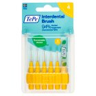 TePe interdental brush 0.7mm - 6s