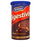 McVitie's Digestives - dark chocolate tube - 250g
