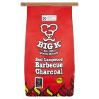 Big K real lump wood barbecue charcoal