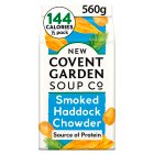 New Covent Garden smoked haddock chowder soup - 600g