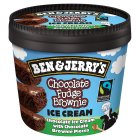 Ben & Jerry's chocolate fudge brownie ice cream - 150ml Brand Price Match - Checked Tesco.com 27/10/2014