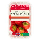 Waitrose sweet and juicy British strawberries - 400g