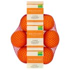 Waitrose large oranges - minimum 6