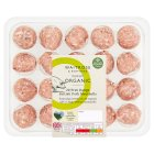 Duchy Originals from Waitrose 20 organic British pork meatballs