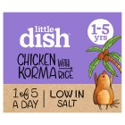 Little dish mild chicken korma - 200g Brand Price Match - Checked Tesco.com 29/10/2014