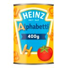 Heinz alphabetti pasta shapes - 400g Brand Price Match - Checked Tesco.com 28/07/2014