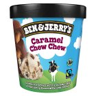 Ben & Jerry's caramel chew chew ice cream - 500ml