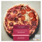 Waitrose hand stretched, thin & crispy pepperoni pizza