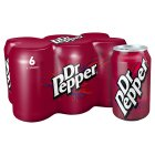 Dr Pepper Multipack cans