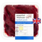 essential Waitrose British Outdoor Bred pork pigs liver - 380g